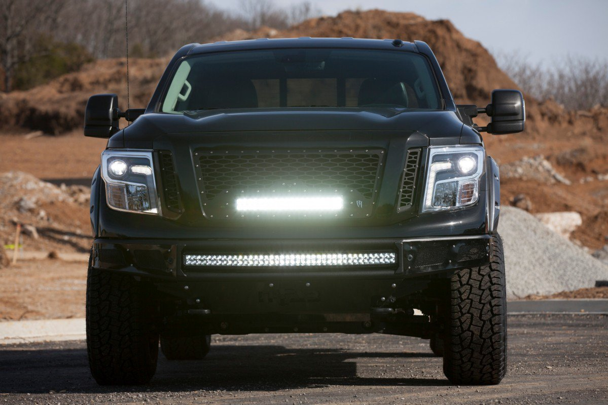 Nissan takes 2017 titan xd pro 4x pickup to the extremes mozeypictures Gallery