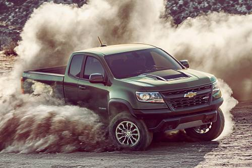 2017 Chevrolet Colorado ZR2 Is $41,000s Worth of Toughness