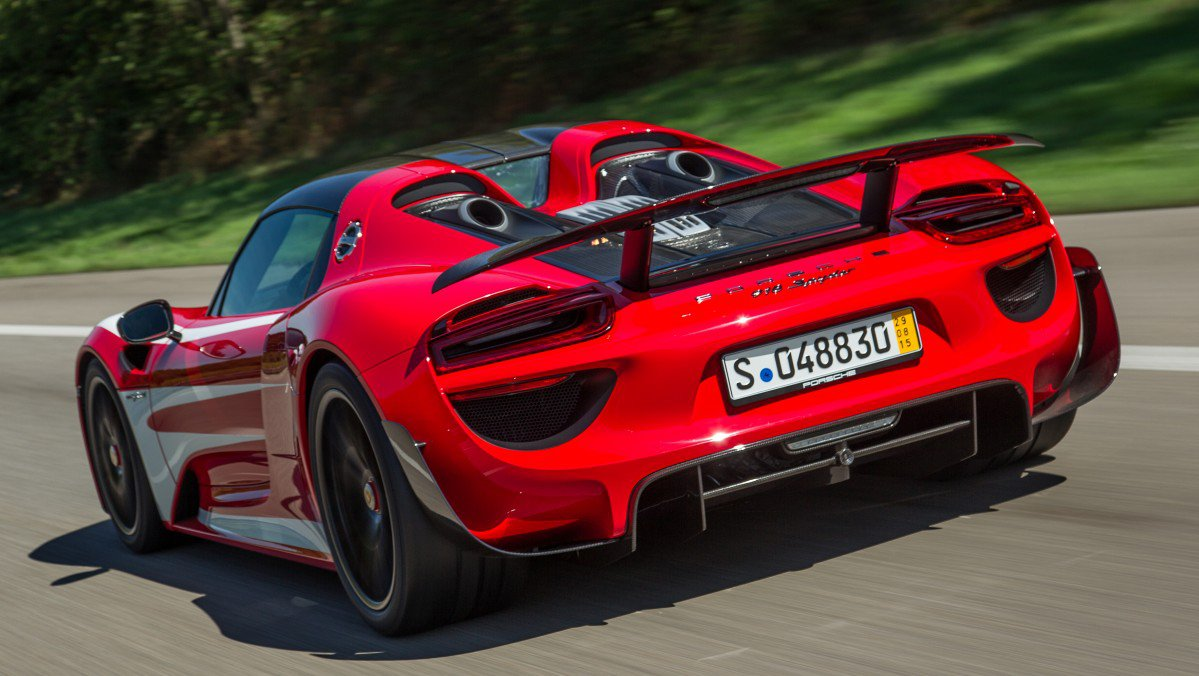 Let Porsche\'s Most Wicked Sounding Cars Chase Away the Monday