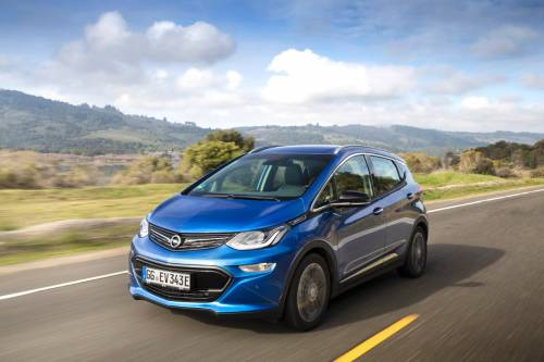 It's Official: the 2017 Opel Ampera-e Has an Electric Range of 520 KM NEDC