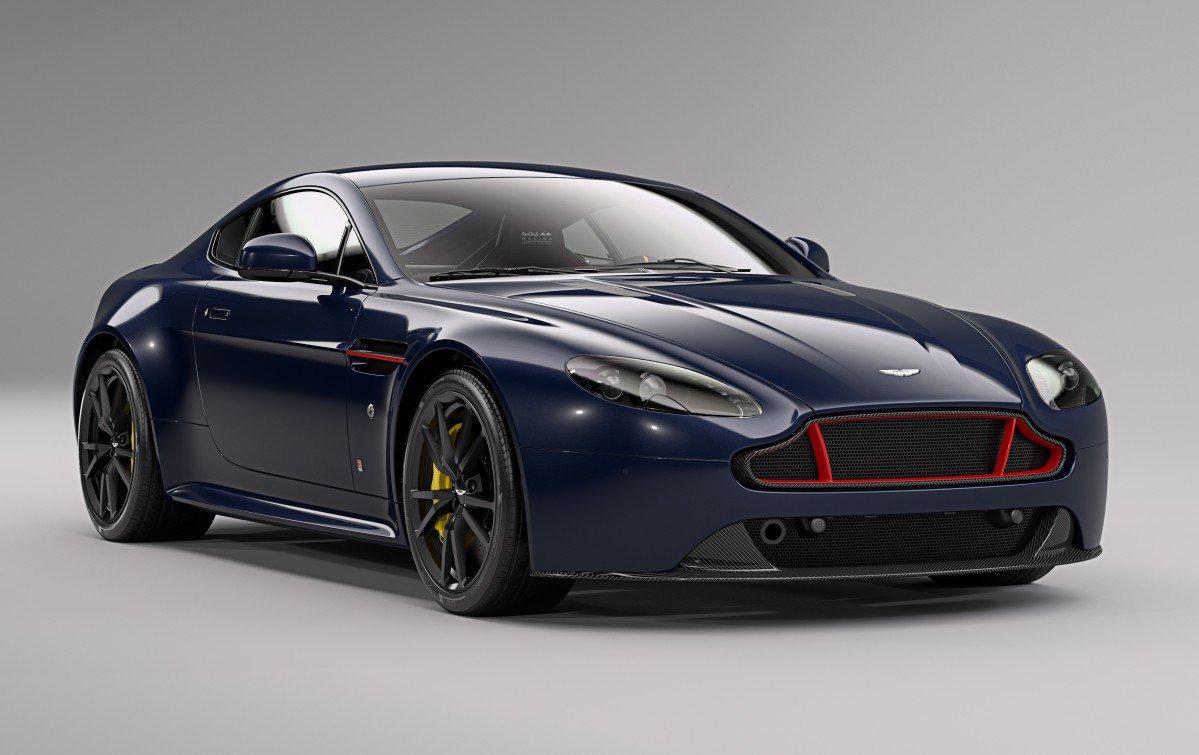 Red Bull Racing es Up Aston Martin V8 and V12 Vantage S
