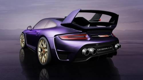 Gemballa Let 809 HP Slide Inside the Porsche 911 Turbo, Calls It Avalanche