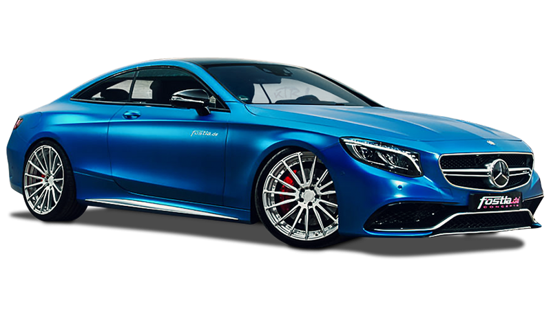 Matte Mercedes-AMG S63 S Coupé Is the Best Example of No Way Jose