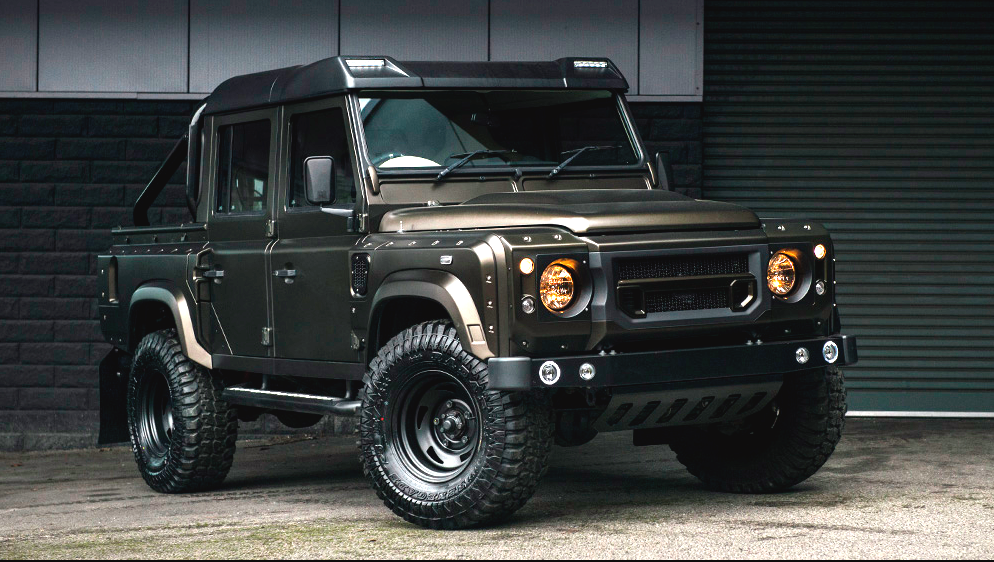 Kahn Design Does What it Does Best: Awesome Modified Defenders