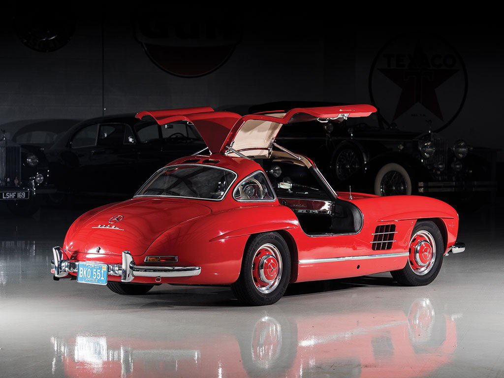 stunning 1957 mercedes-benz 300 sl gullwing could fetch seven