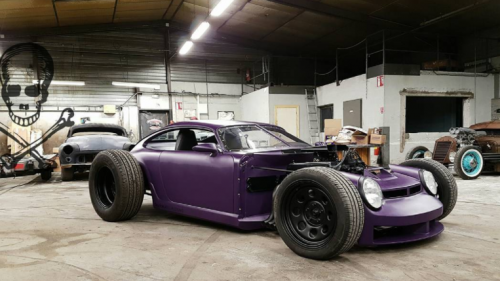 Ludicrous Is too Kind a Term to Describe This  Porsche 911-Based Hot Rod