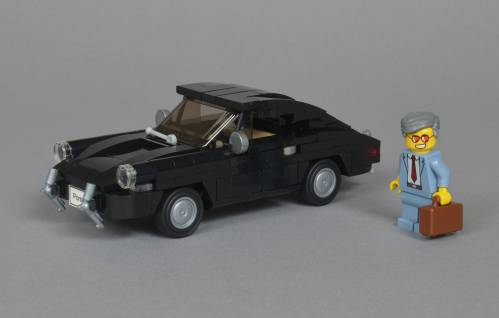 Take a Look at These Beautiful LEGO Classic Porsche Models