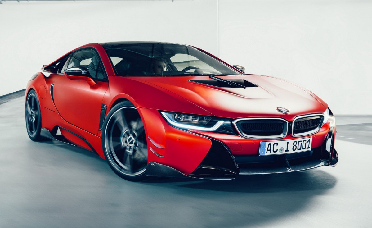Ac Schnitzer Tastefully Upgrades The Bmw I8 With Carbon Aero Kit Low