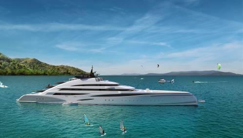 Oceanco Unveils 120m Superyacht Concept Named Amara