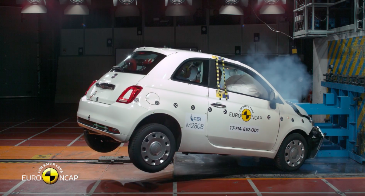 Fiat 500, Ford Ka+ Secure Only Mediocre Three-Star Euro NCAP Safety