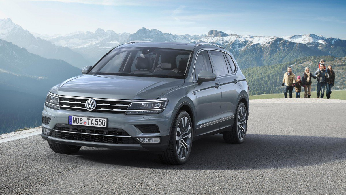 All Types tiguan length : VW Tiguan Allspace Gears Up for Geneva 2017, Offers Six Engines ...