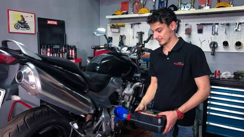 Motorcycle Oil Change - Video Guide