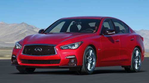 Infiniti Q50 Facelift Makes Geneva Motor Show Debut
