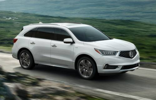 Acura Puts the Sport in Hybrid with 2017 MDX Sport Hybrid