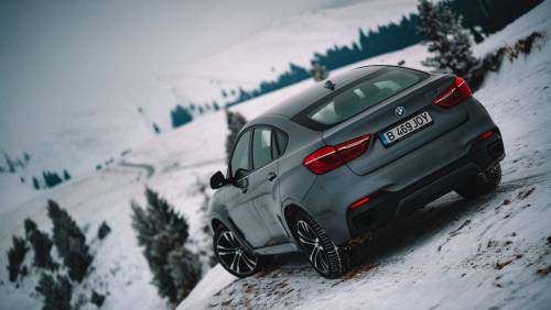 Let a BMW X6 M50d Be Your Guide on 2,500 KM Through Frozen Romania