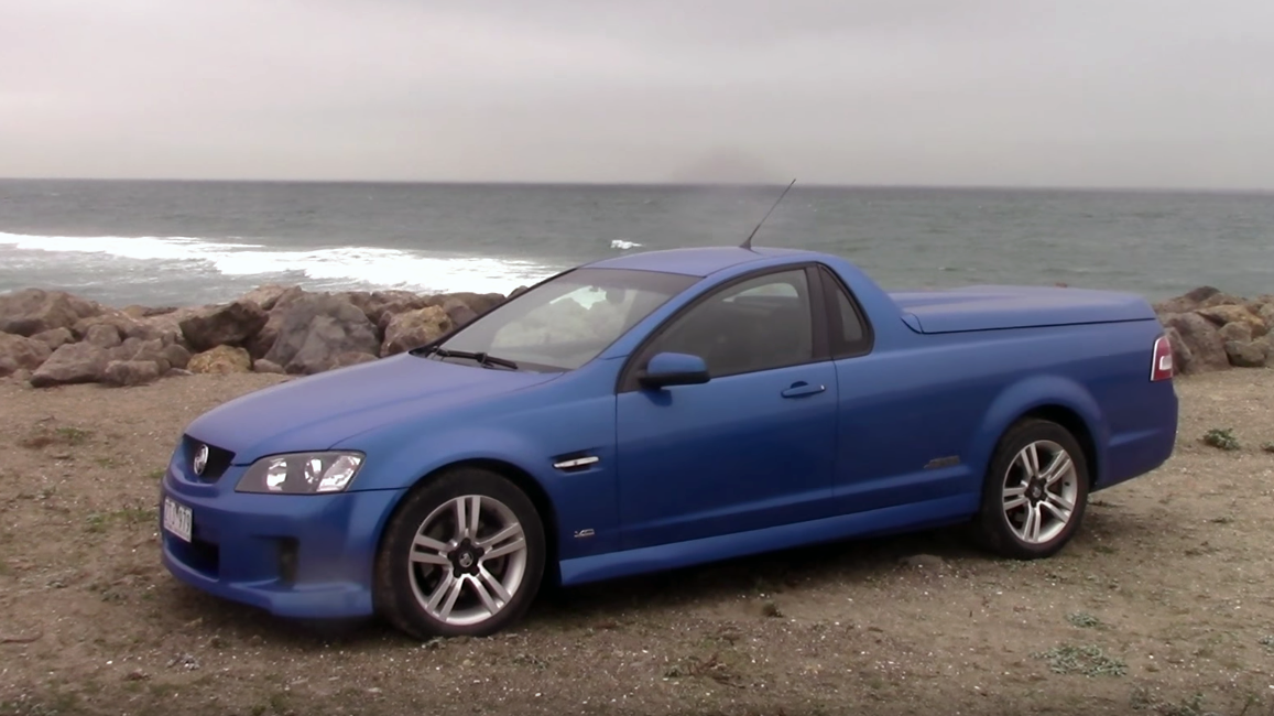You Can Drive a Fully Legal, Left-Hand Drive Holden Ute in ...