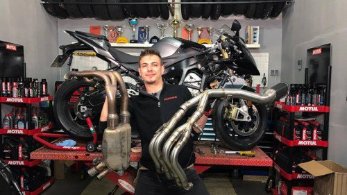 BMW S1000RR Stock VS LeoVince Full Exhaust VIDEO