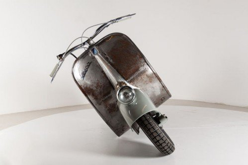 Meet the oldest Vespa in the world