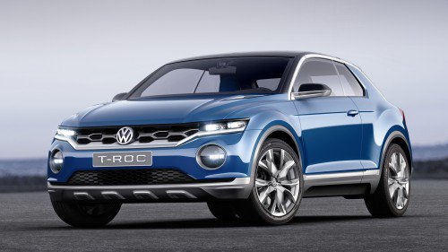 Volkswagen T-Roc Crossover to Make It into Production