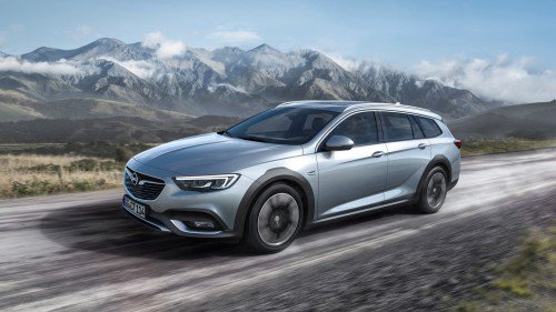 2017 Opel Insignia Country Tourer debuts with extra ground clearance, roughed-up body