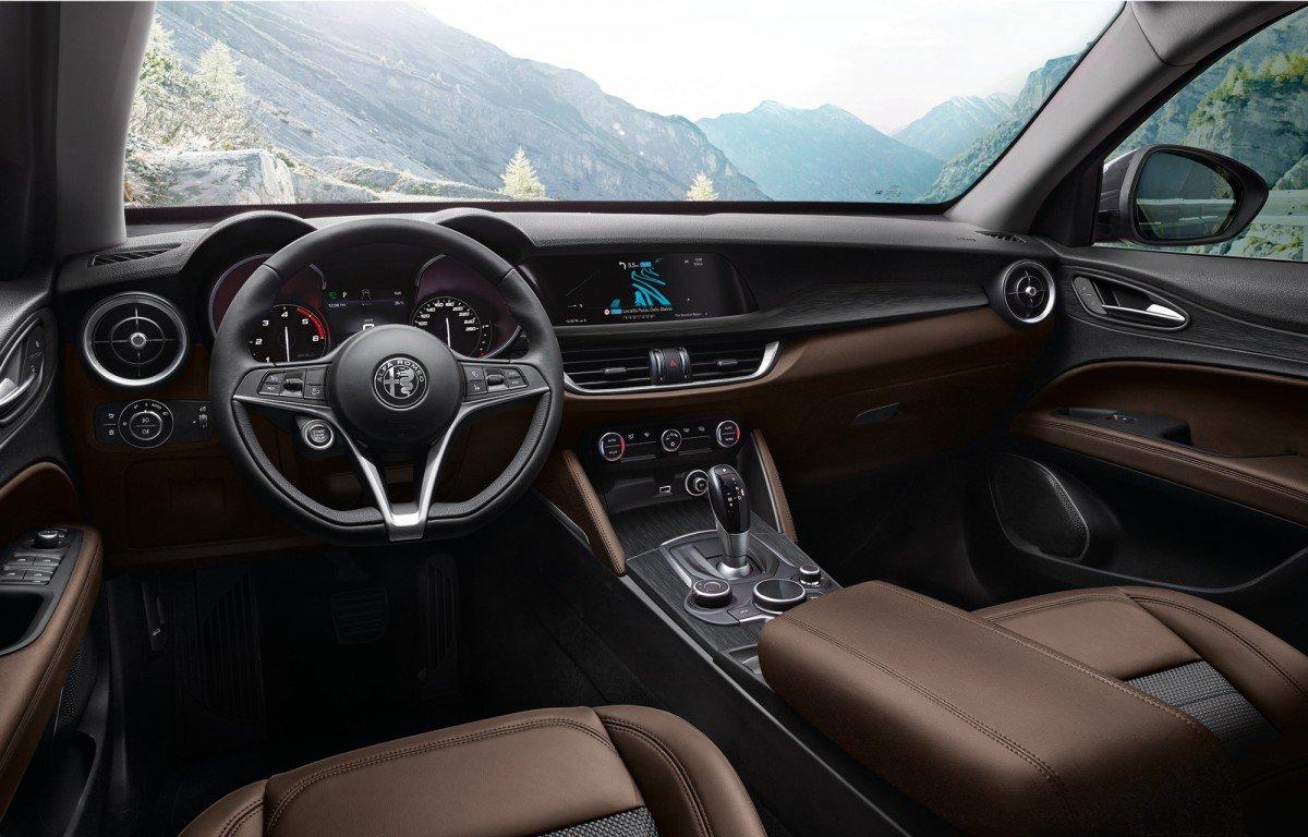Alfa Romeo Stelvio Steering Wheel >> Alfa Romeo adds two new engines to Stelvio lineup, including the firs...
