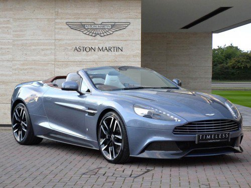 One-off Aston Martin Vanquish Volante AM37 Edition by Q can be yours for £236,950