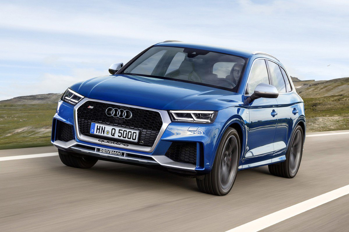 Build Audi Q5 >> Sporty Audi RS Q5 and RS Q2 show their true colors