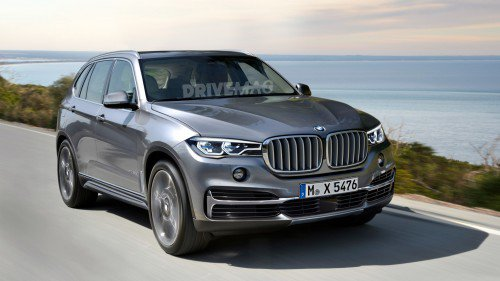 This is what the 2018 BMW X5 could look like
