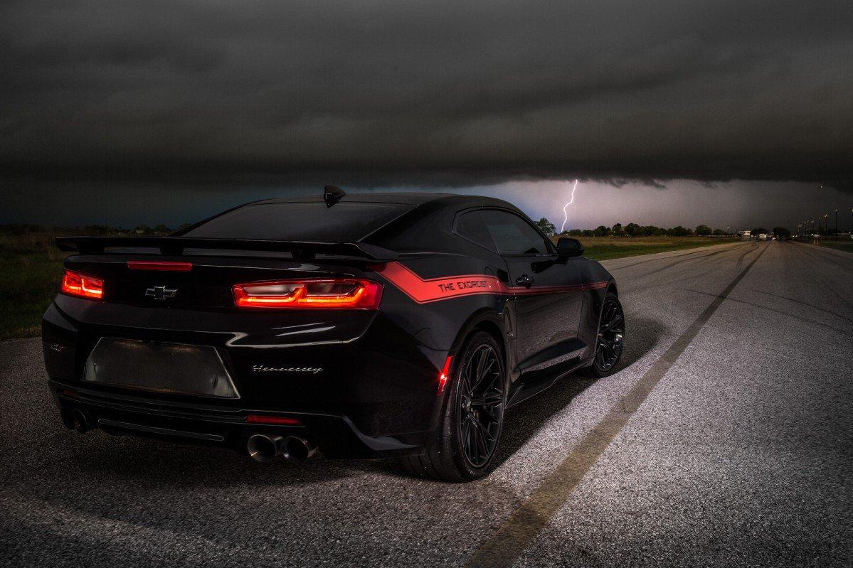 Hennessey Trolls Dodge S Demon With 1000 Hp Camaro Zl1