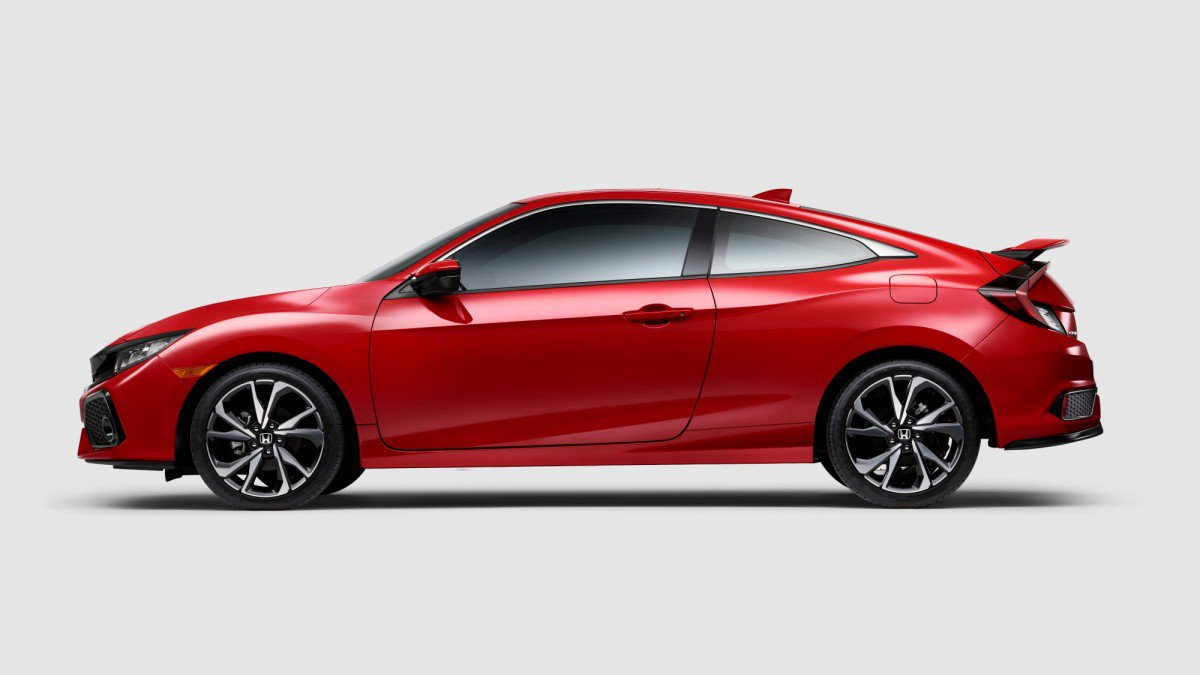2017 honda civic si coupe and civic si sedan go turbo
