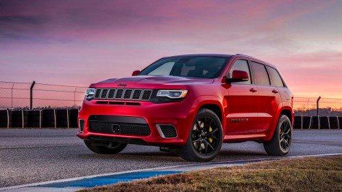 Meet the 2018 Jeep Grand Cherokee Trackhawk, world's quickest SUV