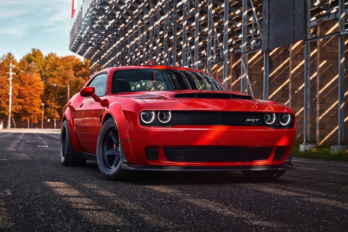 The evil one: 2018 Dodge Challenger SRT Demon debuts as fastest quart...