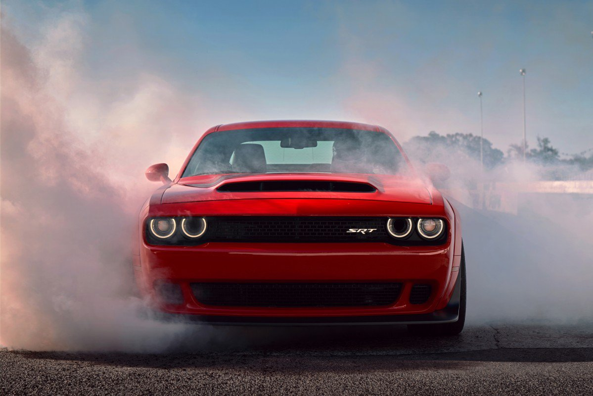 the evil one 2018 dodge challenger srt demon debuts as fastest quart. Black Bedroom Furniture Sets. Home Design Ideas