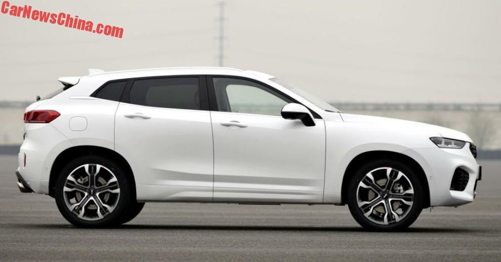 Great Wall S Wey Vv7 Is A Chinese Premium Sporty Crossover