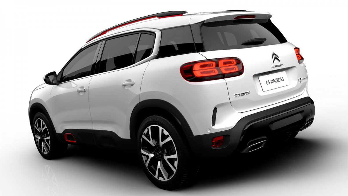 Citroen reveals and details C5 Aircross, first model with ...