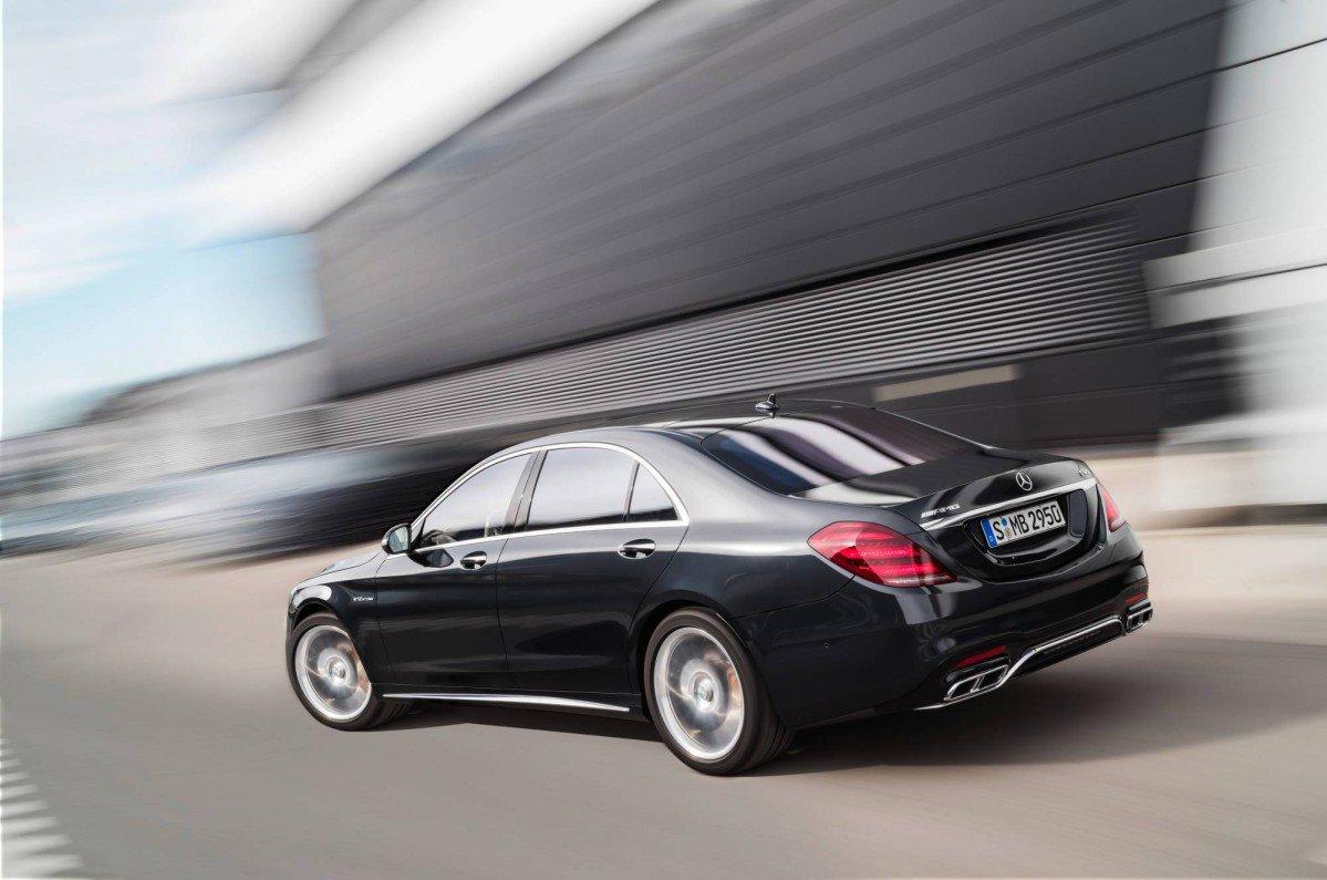 2018 Mercedes Benz S Class Facelift Reveals Retouched Face New Engin