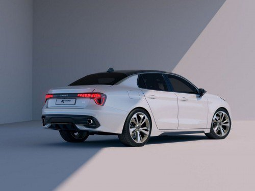 Lynk and Co shows new concept, a sedan simply called 03