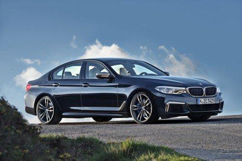Watch the BMW 5 Series take a beating during Euro NCAP crash tests