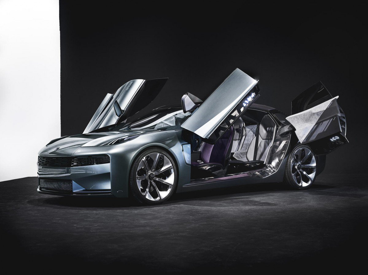 Lynk And Co 02 Concept Previews Flamboyant Luxury Four Door