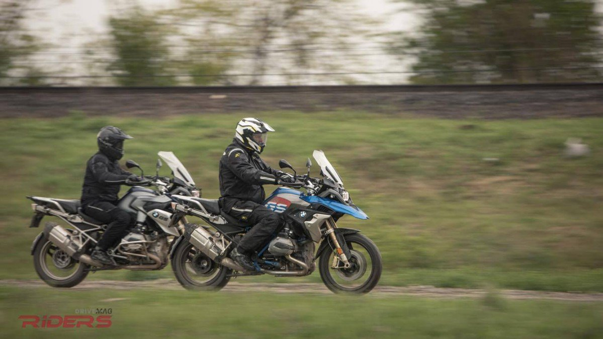 2017 BMW R1200GS Review - Old vs. New Off-Road Test