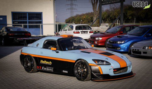 NSX-Swapped Honda S2000 is a trackday weapon if we've ever seen one