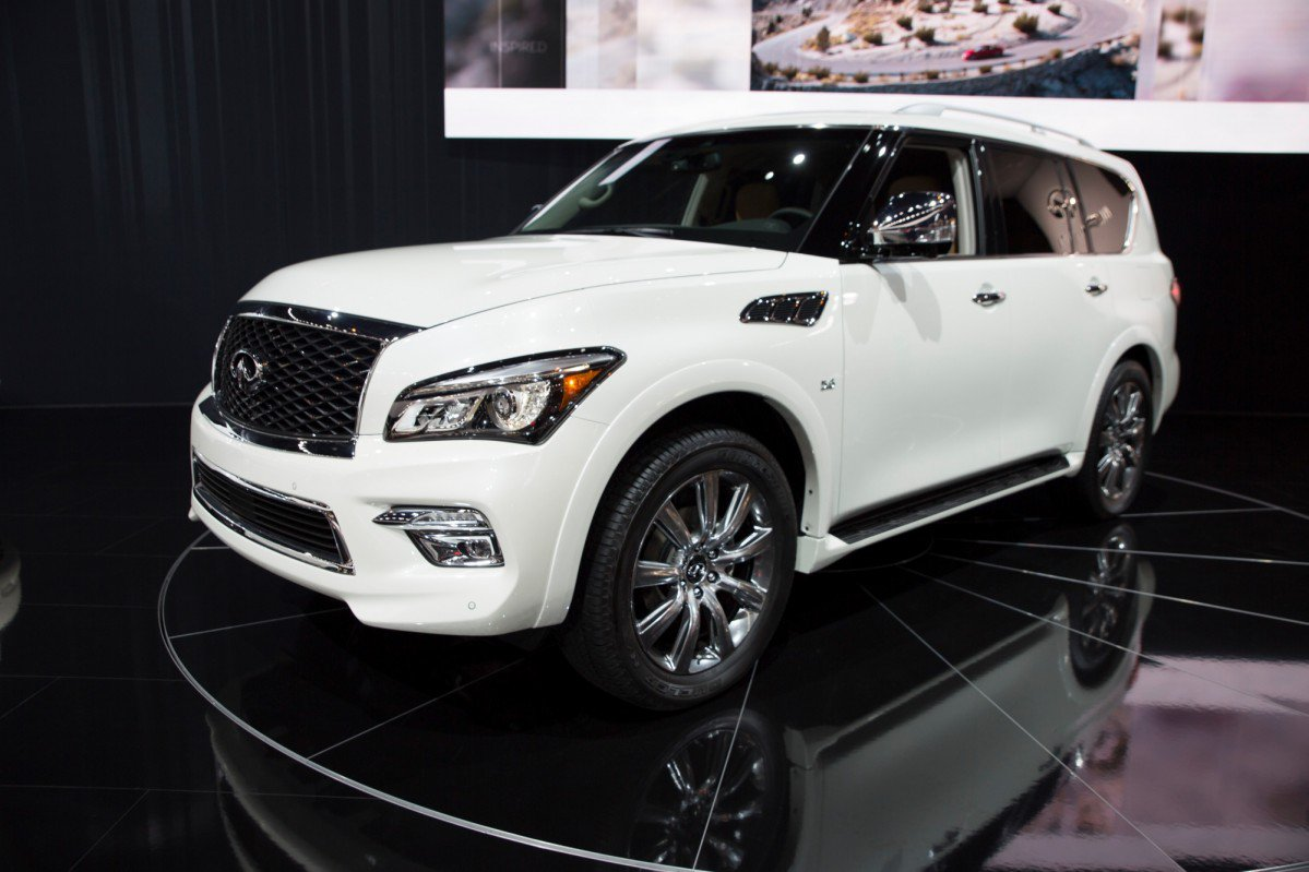infiniti puts a price on 2017 qx80 signature edition. Black Bedroom Furniture Sets. Home Design Ideas