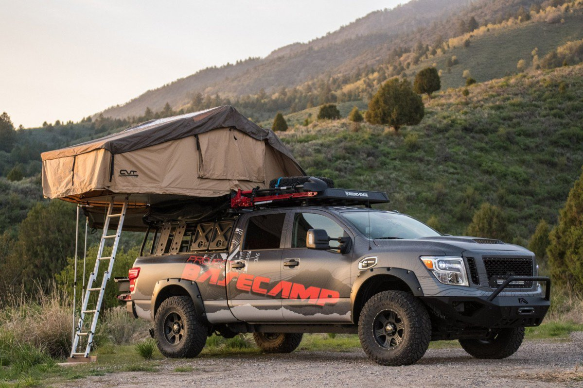 Set up camp anywhere with the 2017 nissan titan xd pro 4x project set up camp anywhere with the 2017 nissan titan xd pro 4x project basecamp mozeypictures Image collections