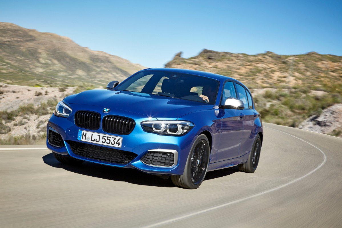 bmw 1 series gets another facelift for the 2018 model year new speci. Black Bedroom Furniture Sets. Home Design Ideas