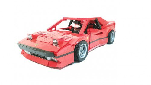 Stunning LEGO Ferrari 288 GTO needs your backing