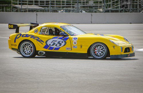 Would you fancy this 2003 Panoz GTS full-blown race car for $5,000?