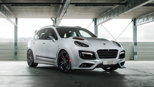 A swollen Cayenne is how TechArt celebrates its 30th anniversary