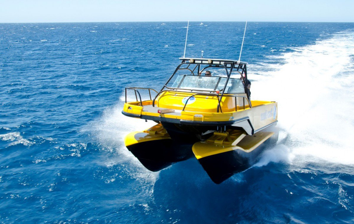 Nauti Craft S Boat Has Hydraulic Suspension For A Smoother