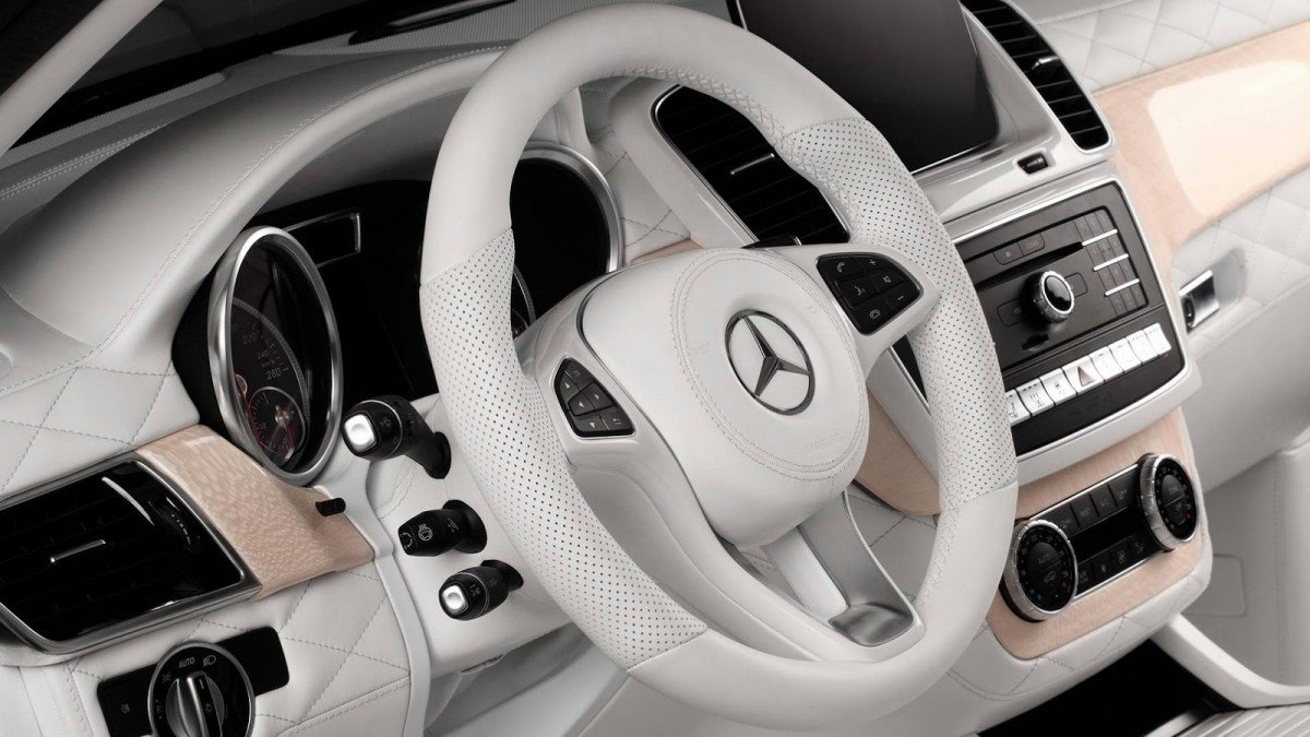 This All White Mercedes Gle Interior Cant Even Be Killed With Fire Benz