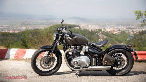 2017 Triumph Bonneville Bobber Test Ride